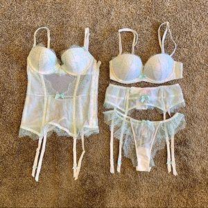 NWT Victoria Secret I Do Bridal Set 32 S